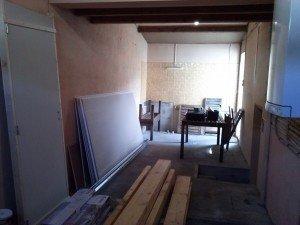 Cloison Placo dans Le cellier/Buanderie cam00622-300x225