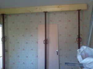 les jedric bricolent casser un mur porteur soi m me. Black Bedroom Furniture Sets. Home Design Ideas