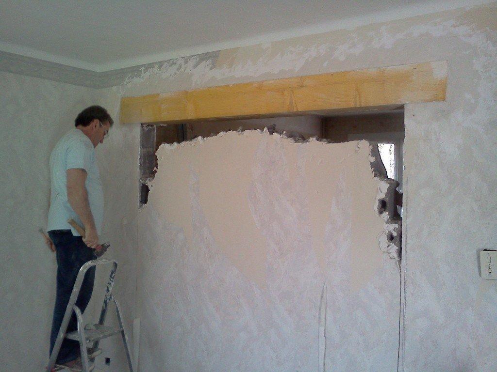 Les jedric bricolent casser un mur porteur soi m me - Remplacer un mur porteur par un ipn ...